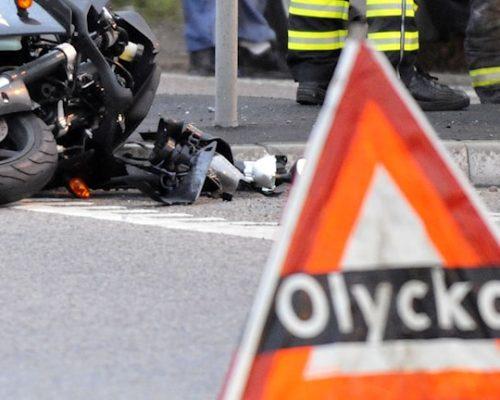 försäkring vid olycka mc